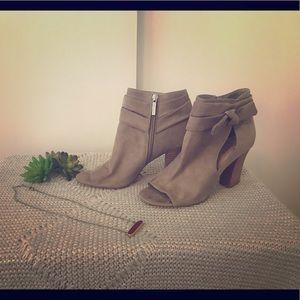 Women's Nine West Zeina Open Toe Cut Out Boots